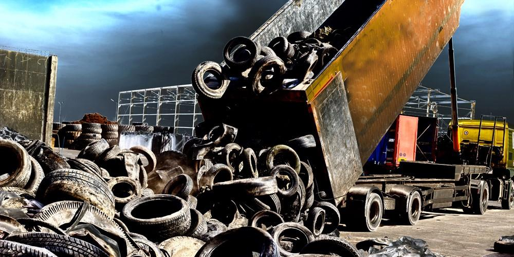 Recycle old tyres