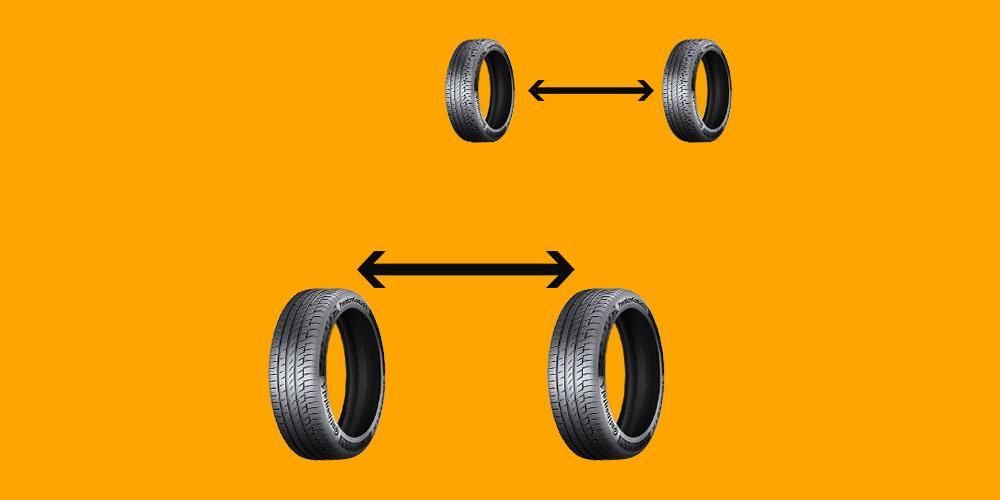cars tyre rotations